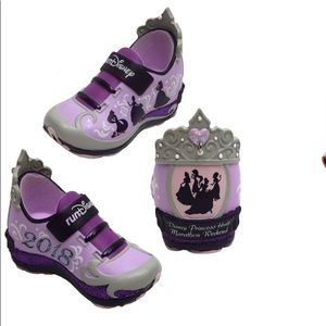 Run Disney 10th  Princess sneaker ornament
